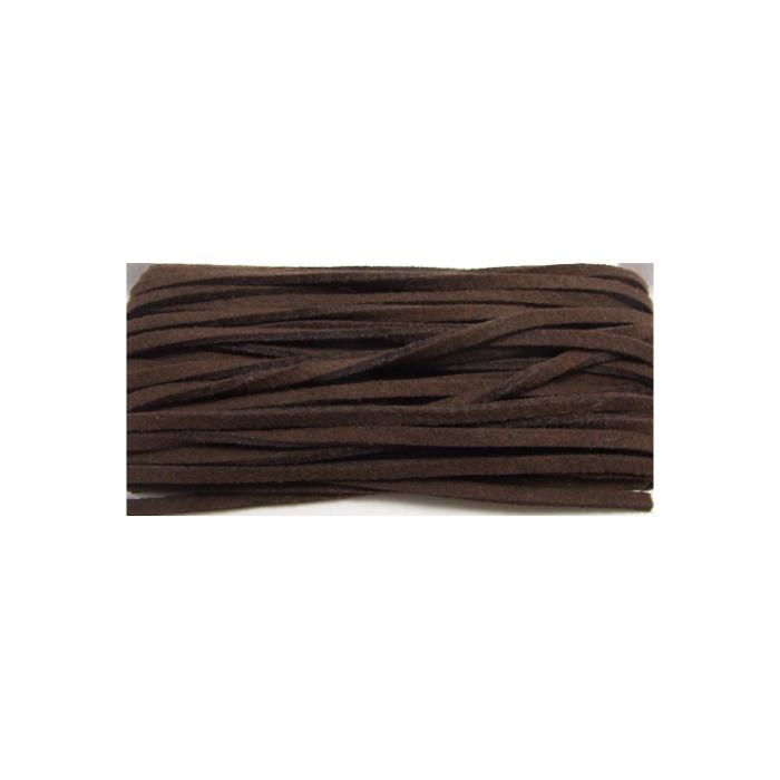JUOSTELĖ-3 Žomša, 3mm, ruda, kaina už 25cm