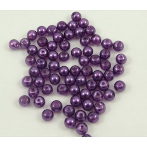 4-05514  8 mm, skaidriai violetiniai