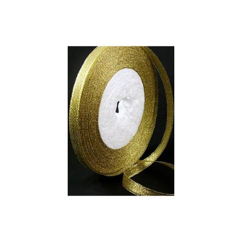 JUOST-1304 metalic juostelė aukso sp. 6mm, kaina už 50cm