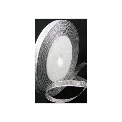 JUOST-1305 metalic  juostelė, sidabro sp, 6mm, kaina už 50cm