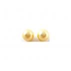 PERL-12MM Kriauklės perliuk. šampano sp, pusiau gręžtas 12mm. už 1,(ant vinutės rekomend. spaustukus 7-61073