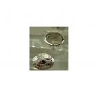 SID-ZIED1852 Žiedas, atsidaro, 22x17mm, dydis reguliuojasi