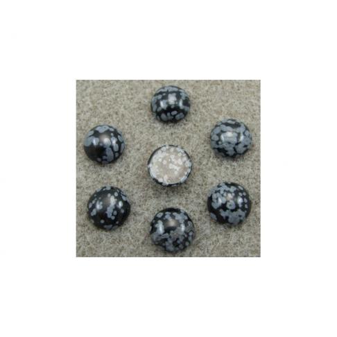 KABAS-30122 Snieginio obsidiano kabošonas, 10mm