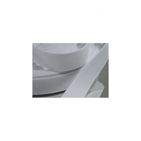 GU-542 Balta elastinė guma, 12mm, už 50cm