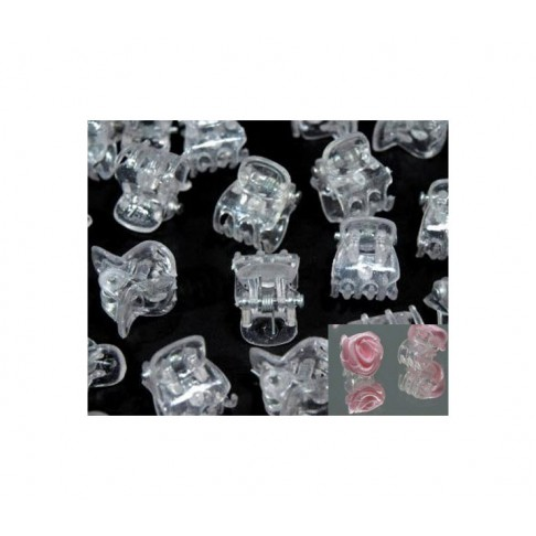 SEG-7760 Segtukas žnyplės, skaidrus, 12x15mm