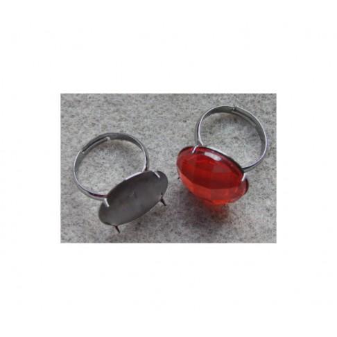 JUOD-BD9112 Žiedas su 18mm diskeliu