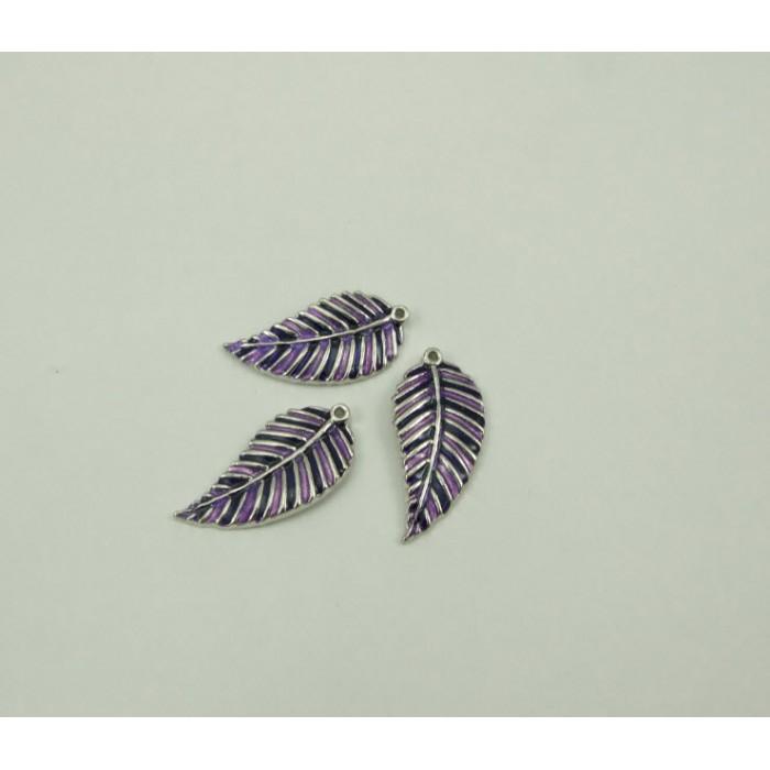7-4749 pakabukas lapelis, violetiniais atspalviais, 35x17mm