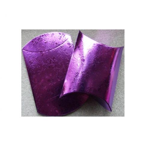 D-10315 Dėžutė išlankstoma, 13x8, sulankstyta gaunasi 8x7cm, violetinės sp.