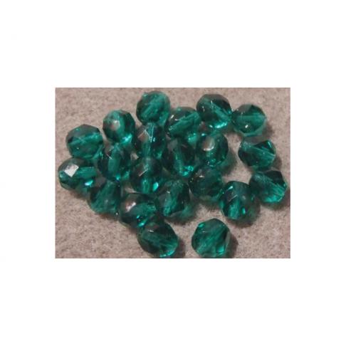 ST-CK884 Karoliukas, 8mm, emerald žalias