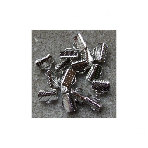 7-0081K Spaustukas juostelei, 10x7mm, platinos sp.