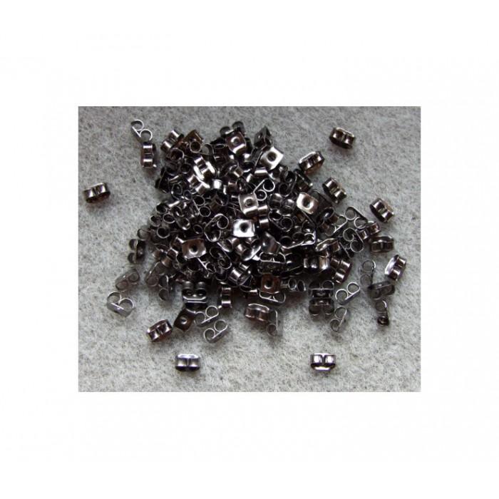 JUOD-SPM11 Spaustukai auskarams, 5mm
