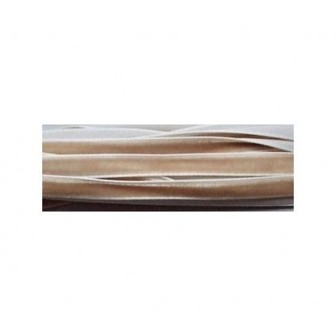 JUOST-10388 Juostelė, 7mm, kaina už 50cm, Šviesiai smėlio sp.