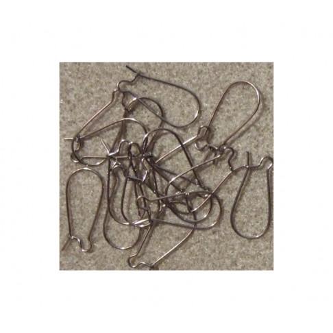 JUOD-1123 Kabliukai auskarams, 23x11mm, už 2