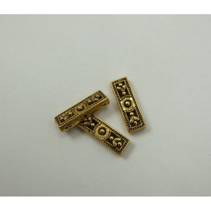 A-I06 Paskirstytojas sendinto aukso sp., 25.7×8.5×3.9 mm