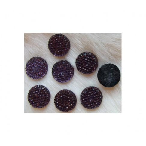 KAB-78230 Akrilinis kabošonas 16mm, Violetinis