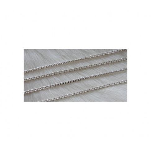 SID-GR998  Grandinėlė sidabro sp.  2.5x2mm, kaina už 50 cm