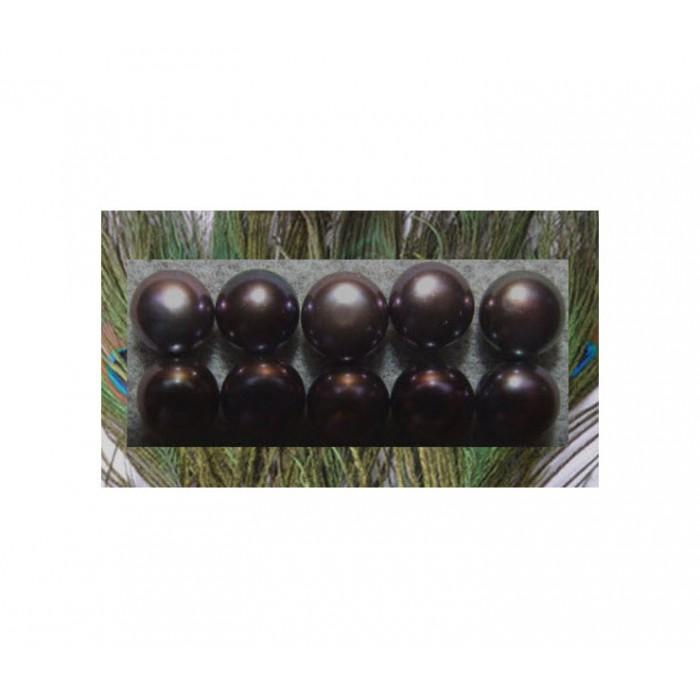 KAB-PER8814 Pusiau gręžtas perliukas, 8mm