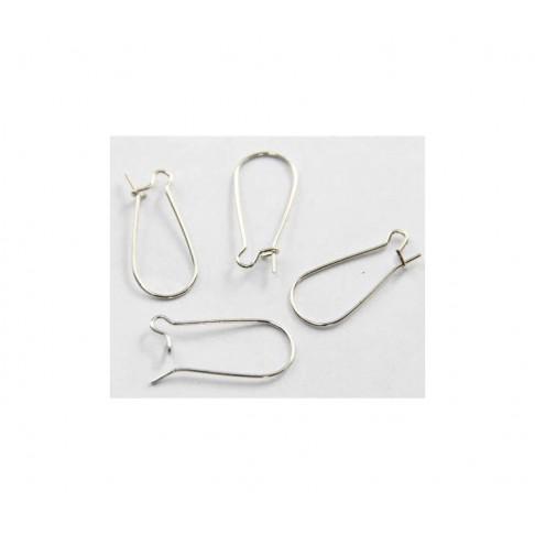 SID-K213824   Kabliukai auskarams, 25x12mm, už porą