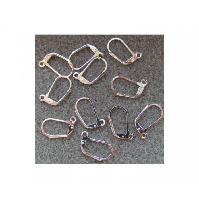 SID-10889 kabliukai auskarams 18x10mm, už porą