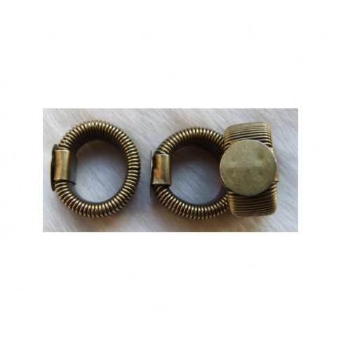 ZALV-ZD15821 Žiedo pagrindas,spyruoklinis, reguliuojasi, su 12mm plokštele