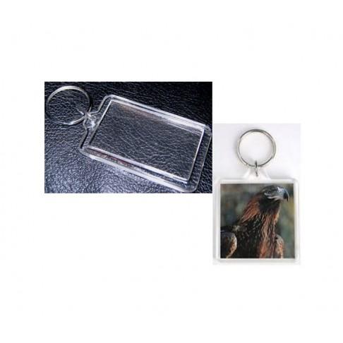 RUOS-38452 Ruošinys raktu pakabukui, (foto rėmelis) 38x52mm, nuotraukos dydis telpa 32x45mm