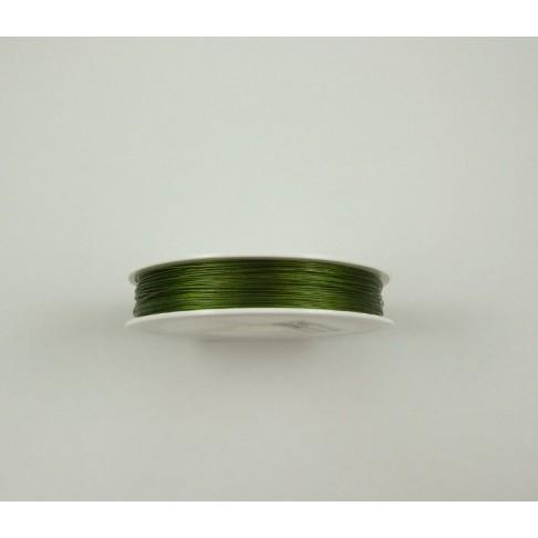 2237 troselis vėriniams, haki sp, 0.45 mm, kaina už 1 metrą