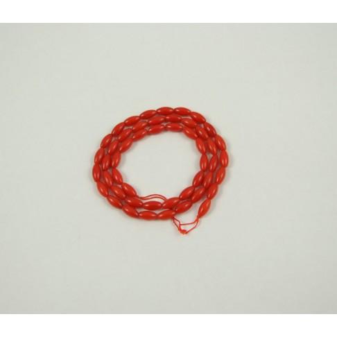 5-2320 Koralas, pailgos formos, 8x4 mm
