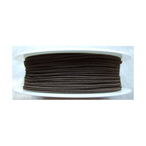 """Sutažo juostelė-0999 """"Pega"""" 3mm, viskozė, už 50cm, ruda"""