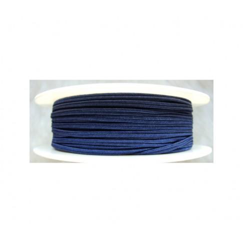 """Sutažo juostelė-0117 """"Pega"""" 3mm, viskozė, už 50cm, mėlyna"""
