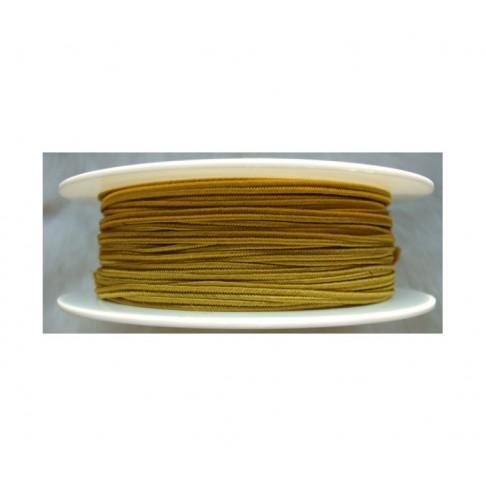"""Sutažo juostelė-0119 """"Pega"""" 3mm, viskozė, už 50cm, medaus sp."""