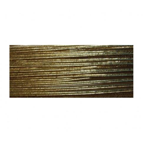 Sutažo juostelė-AUK-310M ,  3mm, metalic aukso sp, už 50cm, (Canada)
