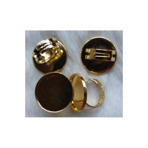 AUK-23482 Ruošinys žiedui, vidinis diametras  apie 22.5-23 mm,( gali buti dėmeliu)