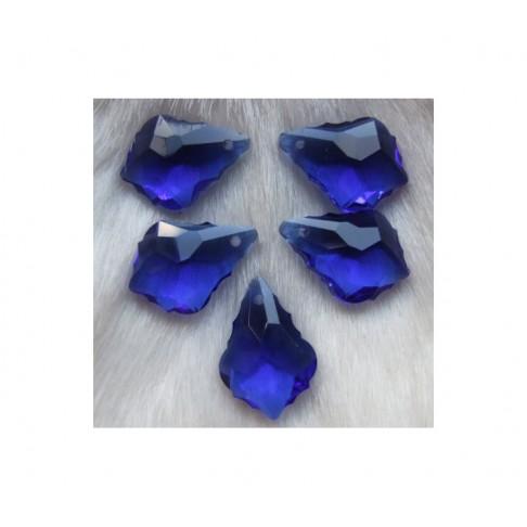 KR-PKB675 Kristalo pakabukas 22x15, mėlynas
