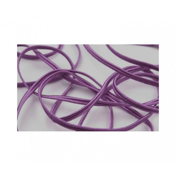"""utažo juostelė-4602 Pega"""" 3mm, viskozė, už 50cm, tamsi violetinė"""