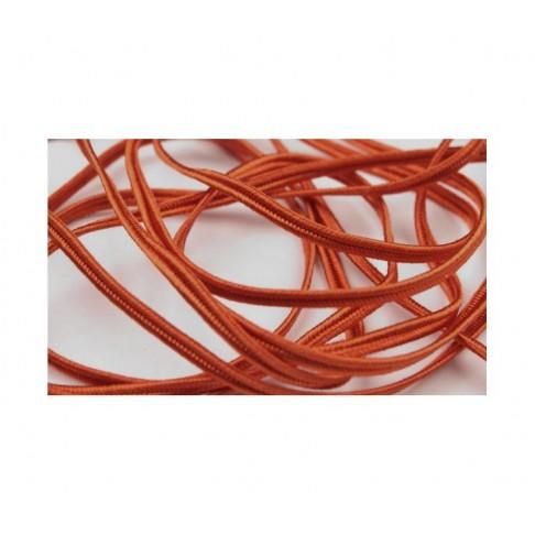"""Sutažo juostelė-4302 Pega"""" 3mm, viskozė, už 50cm, švelni oranžinė"""