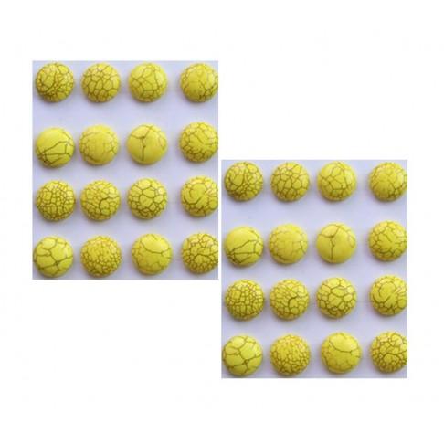 KAB-HW21 Hovlito kabošonas, švelniai geltonas, 18x7mm