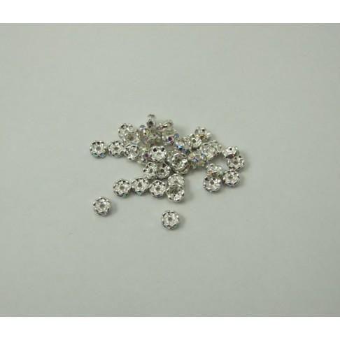 7-6289 Intarpas, 5mm, kristalas AB sp. akutėm