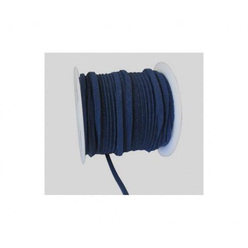 VIR-160104 Virvutė 3x1.2mm, kaina už 10cm, melsvai džinsinės sp.