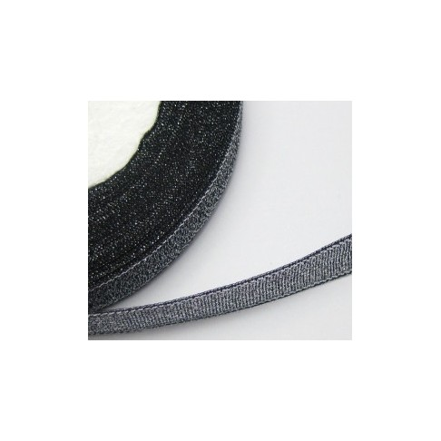 J-MET502 Juostelė metalic, 10mm, juoda, kaina už 50 cm