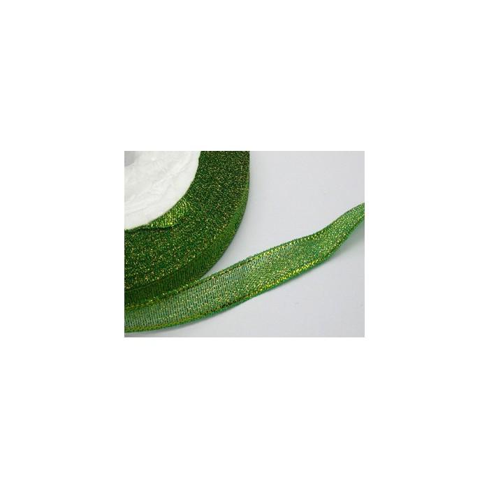 J-MET504 Juostelė metalic, 10mm, žalia, kaina už 50 cm