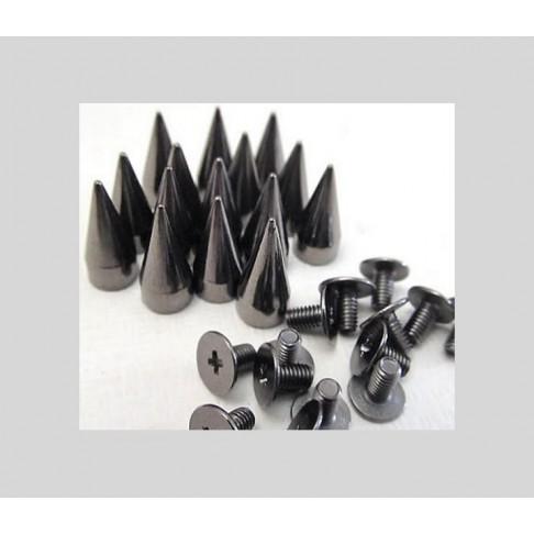 J-KN1400 Kniedė prisukama, juoda, 13mm