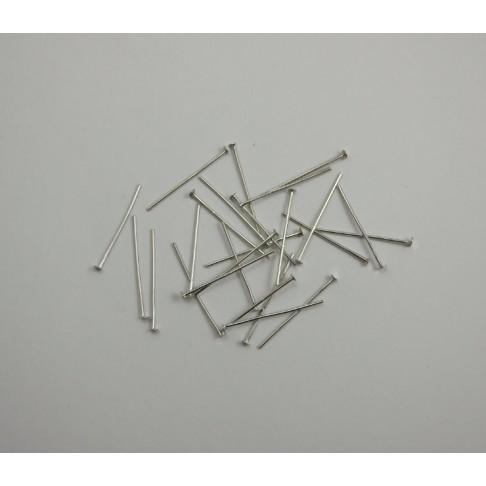 VI-2407 vinutės, platinos sp., 24mm ilgio, storis 0.7mm , kaina už 50 vienetų