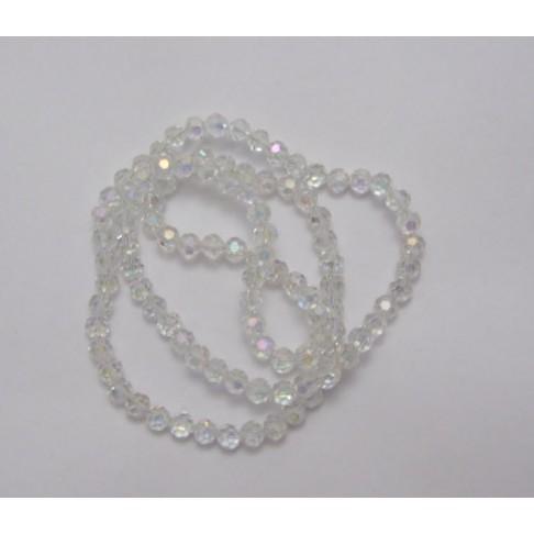 9-07490  4mm, kristalas AB, apvalus
