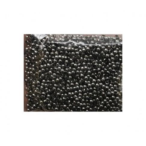 JUOD-24662 Spaustukai, 2.4mm, juodinti, už 100 vnt.