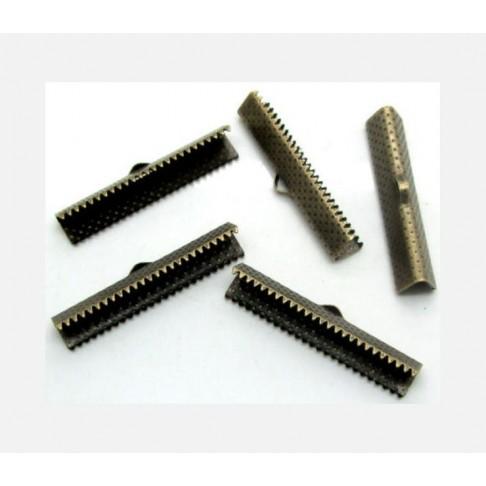 ZAL-75534 Užbaigimo detalė kaspinams, 35mmx7.5mm