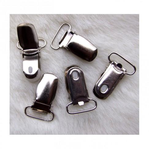 7-811523 Laikiklis-spaustukas, 35x20mm., platinos sp.