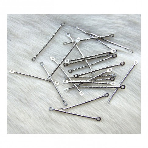 7-90014  Intarpas   30x2mm, platinos sp.