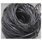 OD-9969 Osdinė virvutė, 2mm, tamsios SIDABRO sp., kaina už 10 cm.