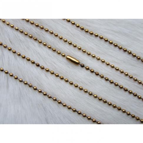 AUK-SD2756 Sendinto aukso grandinėlė,  45cmx2mm