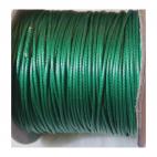 J-2597 Virvutė, 1mm, tamsiai žalia spalva, už metrą